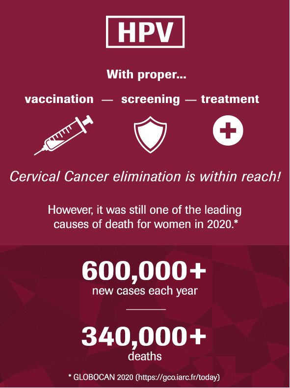 HPV Cervical Cancer – global statistics