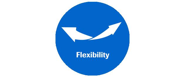 Symbol für Flexibilität