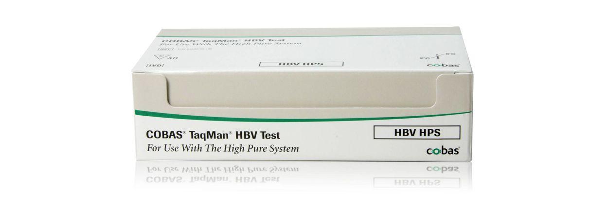 Imagen de producto para la prueba de VHB COBAS® TaqMan® para su uso con el sistema High Pure