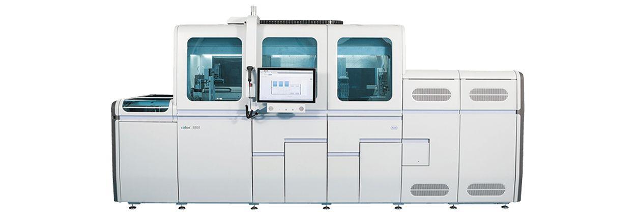 cobas®8800 sistemi ürün görseli
