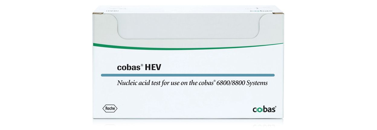 Image of cobas® HEV assay for the detection of HEV in donated blood