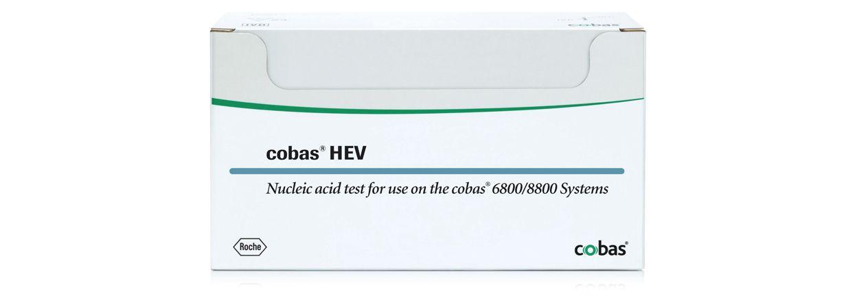 Bağışlanan kanlarda HEV'nin saptanmasına yönelik cobas® HEV testinin görseli