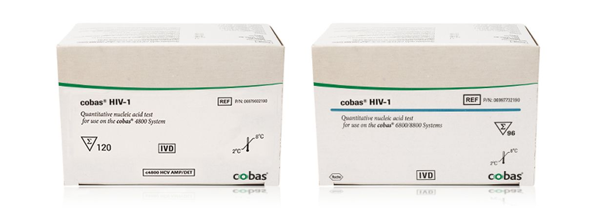 Produktabbildung des cobas® HIV-1 Tests