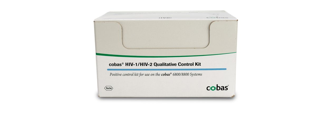 Produktabbildung des qualitativen cobas® HIV-1/HIV-2 Tests