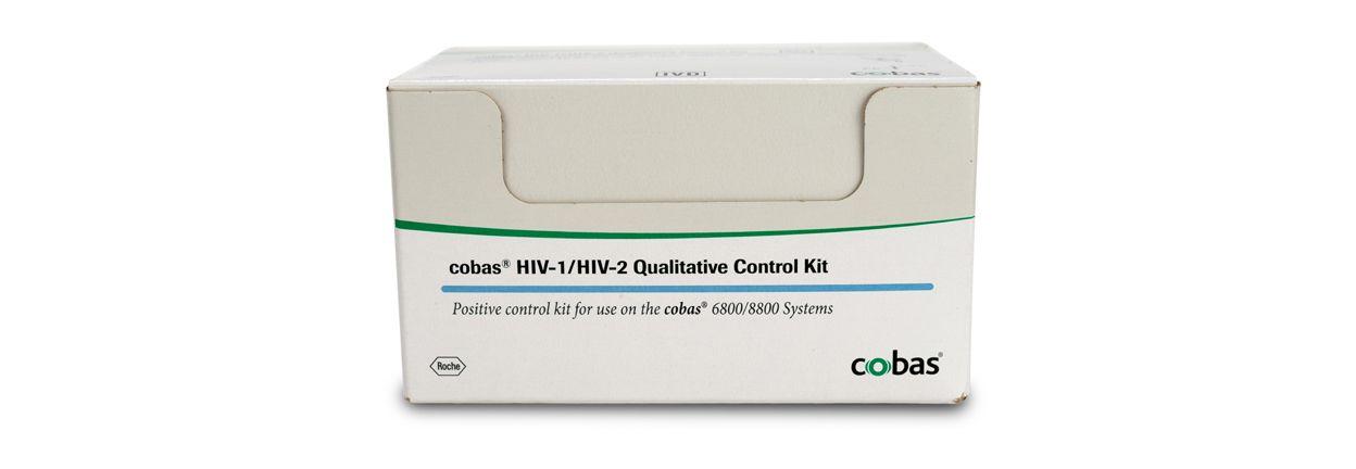 Imagen de producto para la prueba cualitativa cobas® de VIH-1/VIH-2