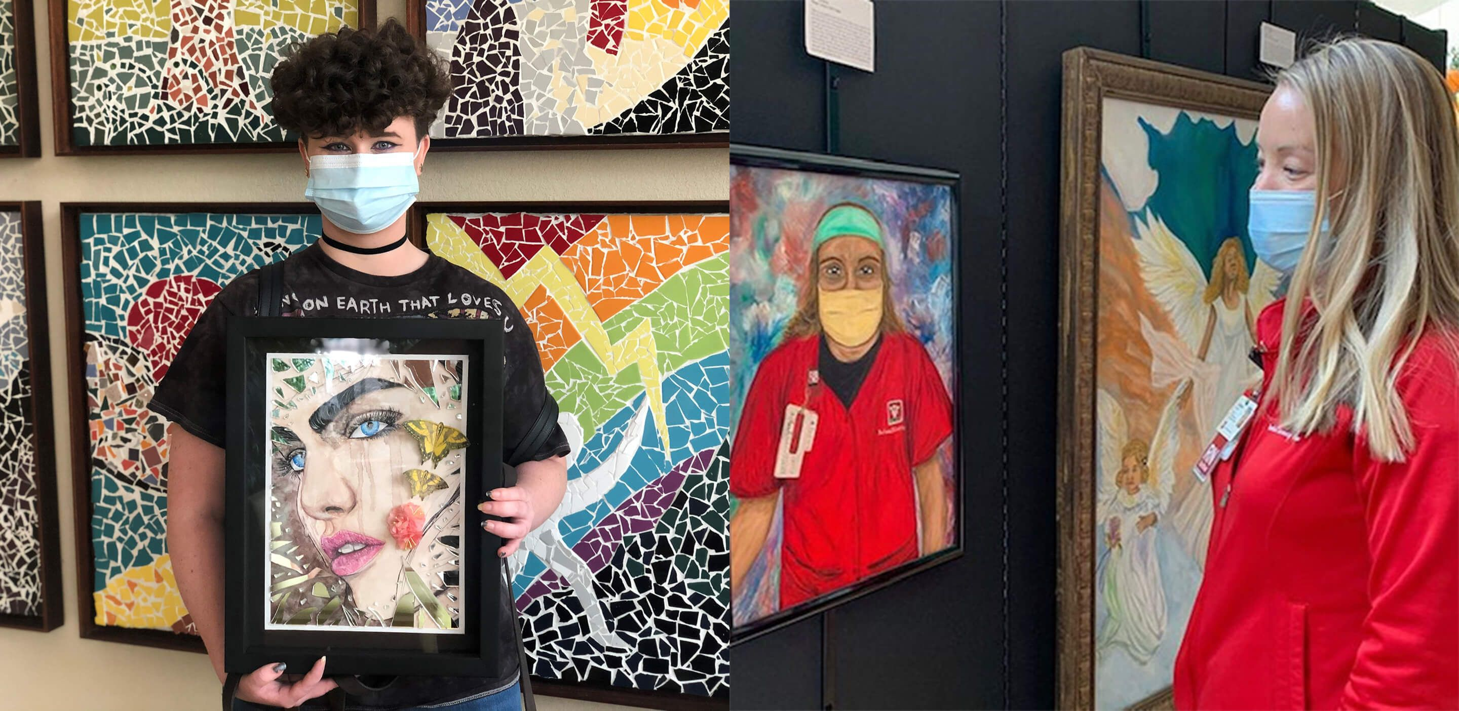Art program provides solaces for patients and providers