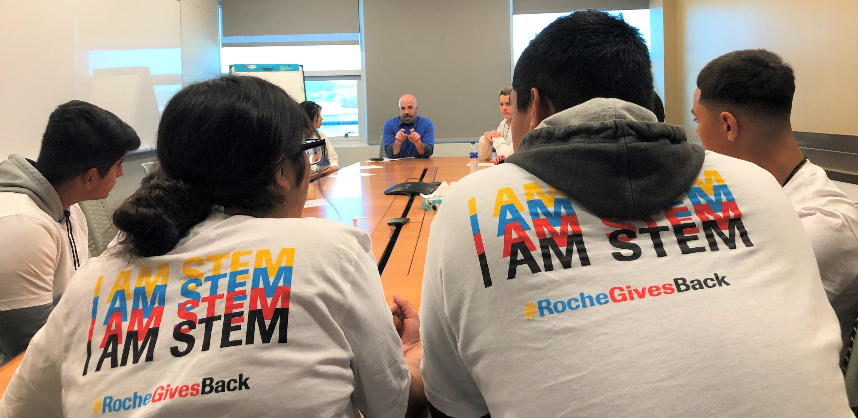 STEM career day at Roche