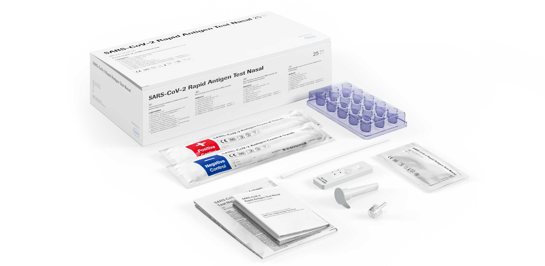 SARS-CoV-2 Rapid Antigen Test Nasal Verpackung