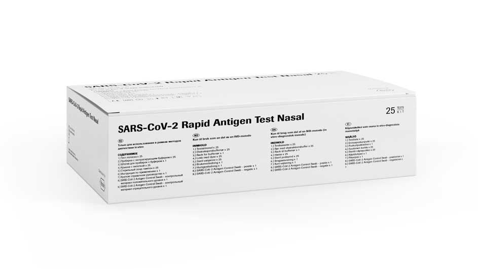 SARS-CoV-2 Rapid Antigen Test Nasal