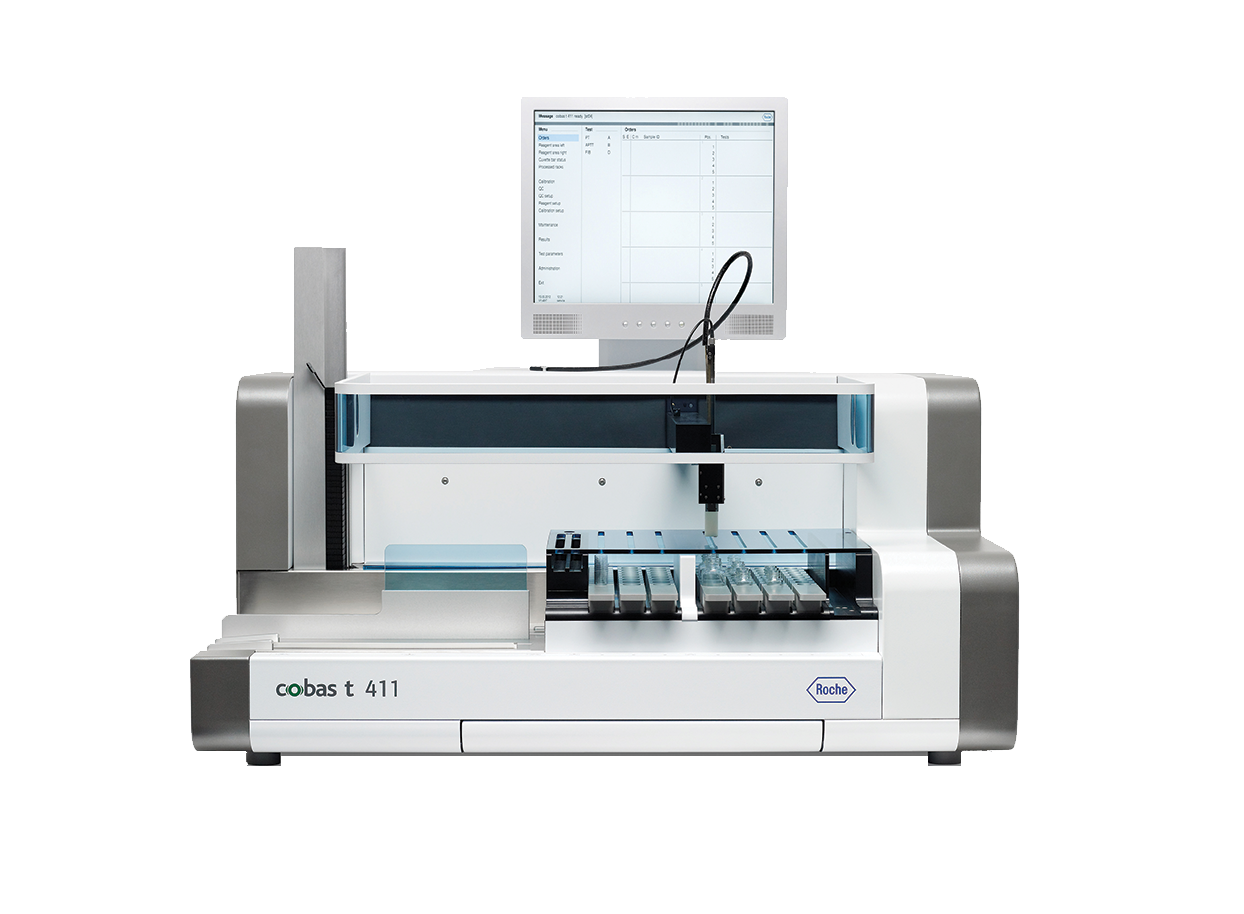 Product image for cobas t 411 coagulation analyzer
