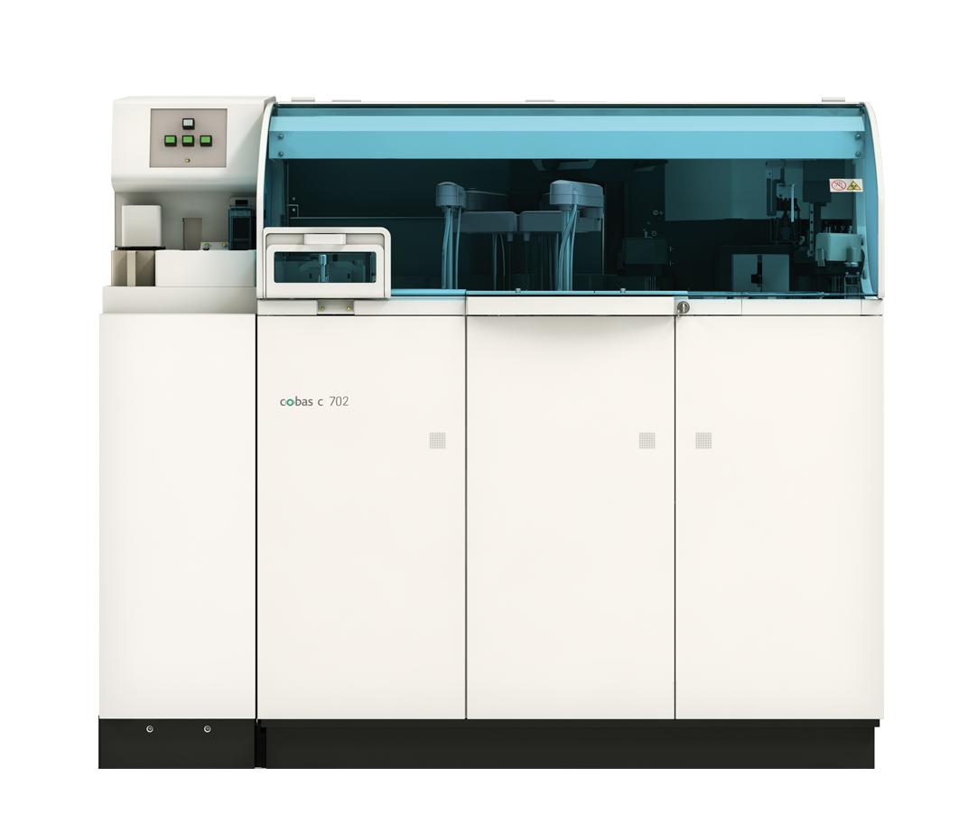 The cobas® 8000 analyzer series.