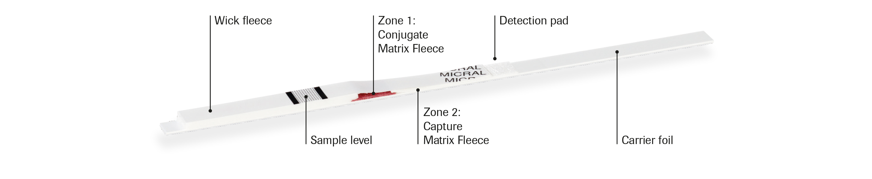 Micral-Test® strip illustration