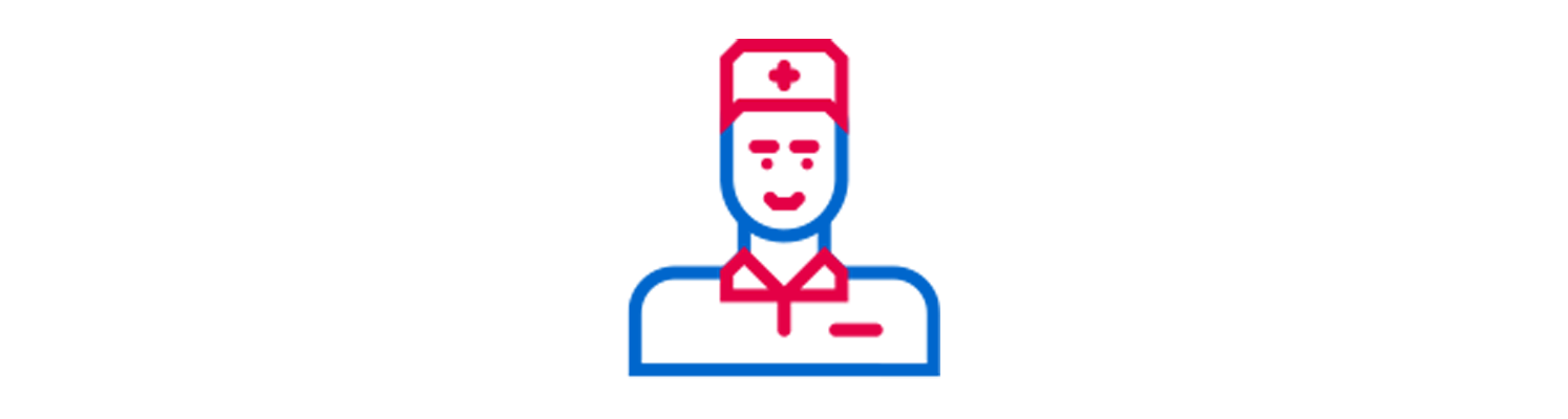 Icône d'une infirmière