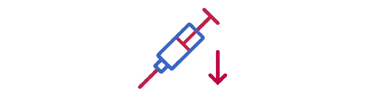 Icon of a syringe