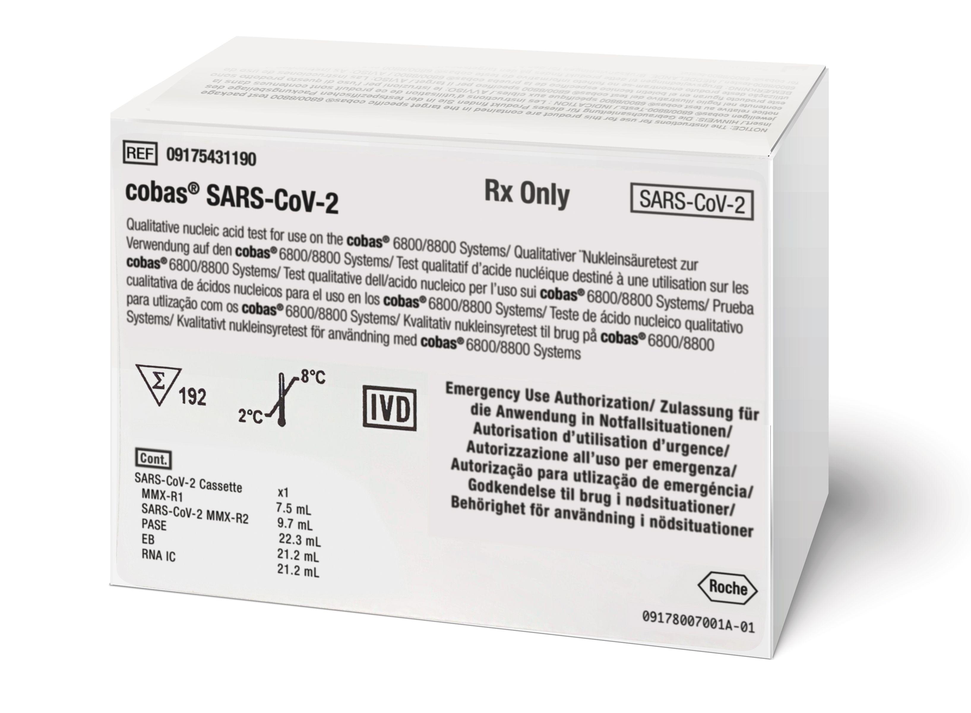 cobas® SARS-CoV-2 test kit