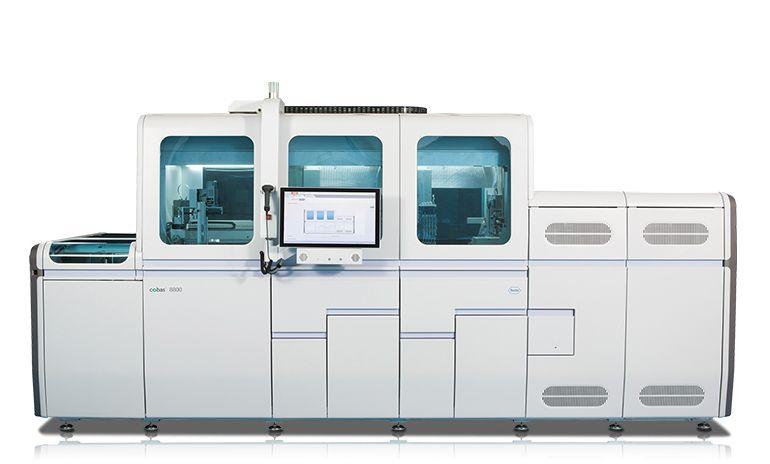 Abbildung des cobas® 8800 Systems