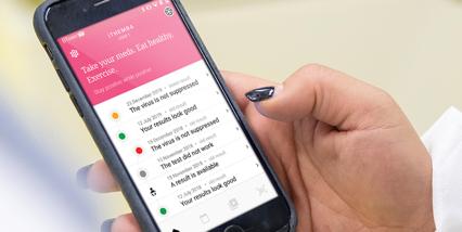 Roche mobile app diagnostic solutions