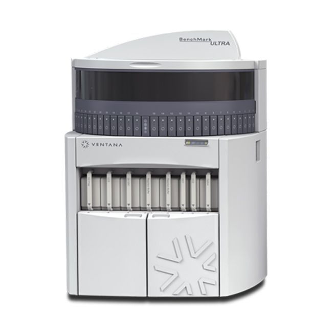 IHC Stain Automation—BenchMark Ultra pathology lab instrument Ventana