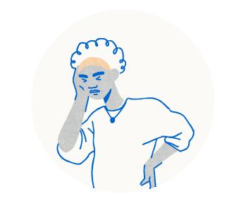 illustration - covid sympthoms