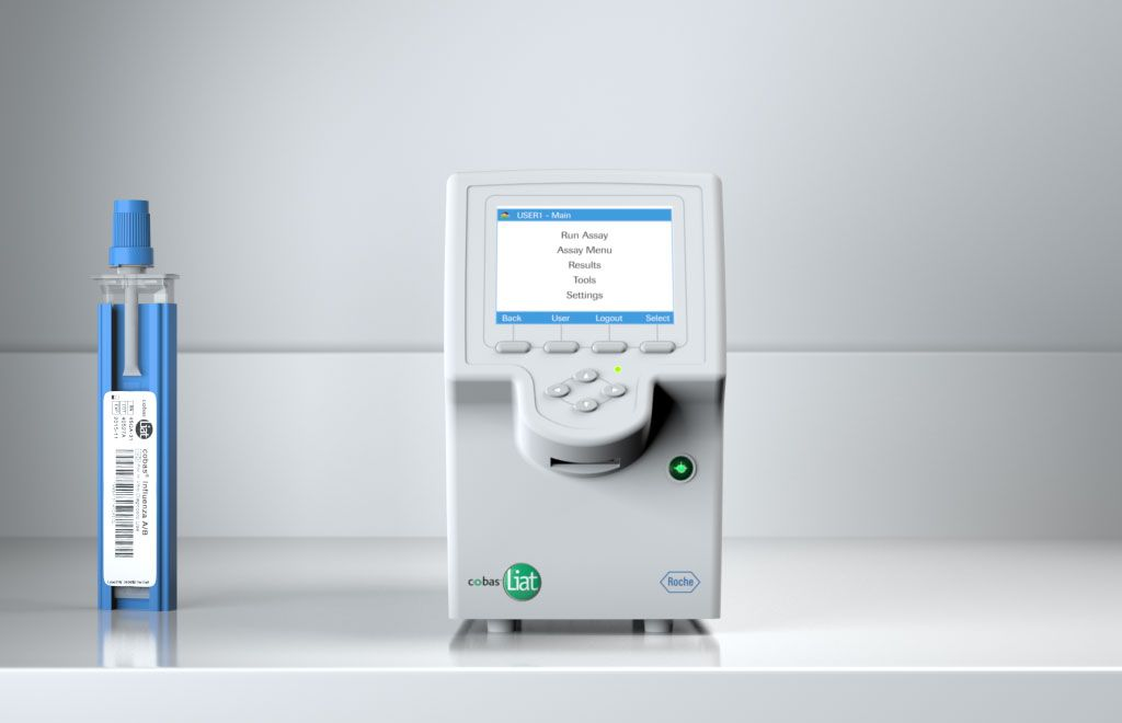 Laboratories profit from fast and definite molecular test results delivered by Roche's cobas® Liat®.