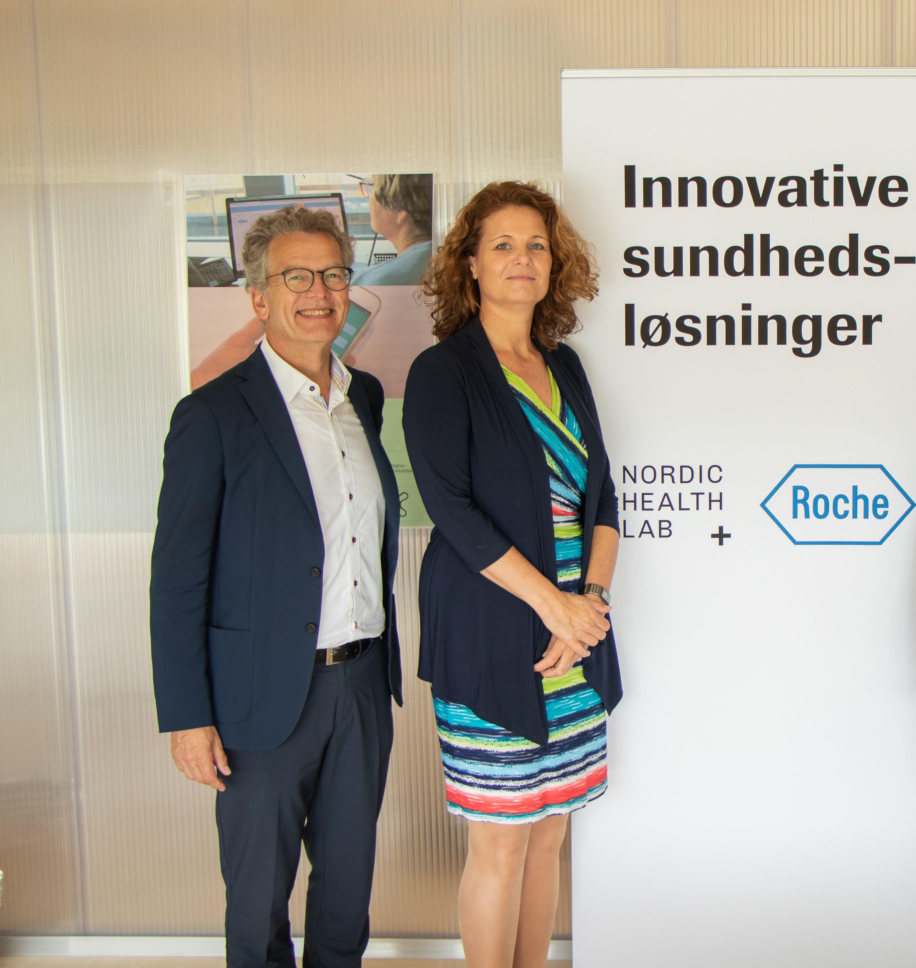 Esther de Rooij and Harald Borrmann
