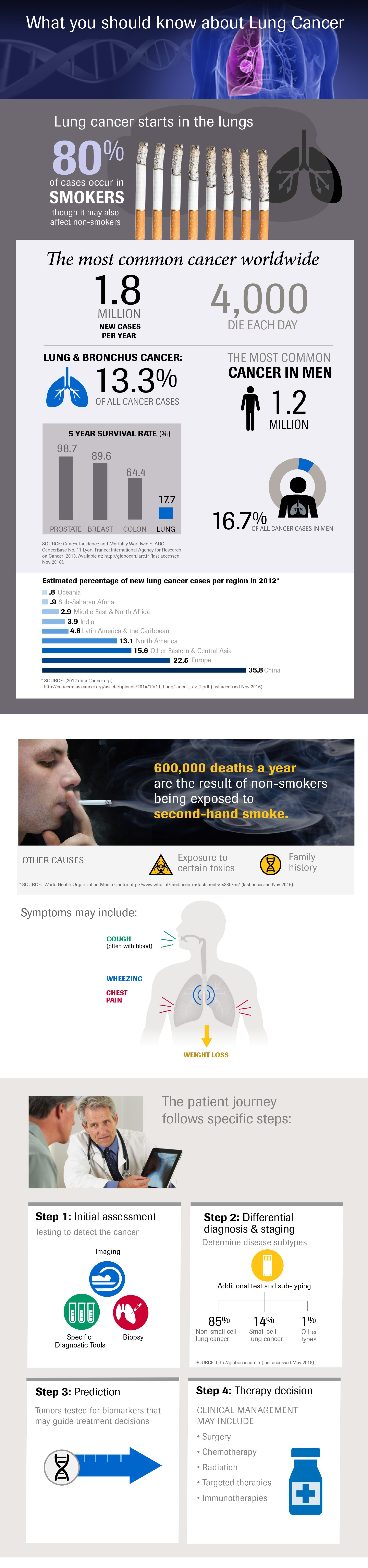 Infographic: Lung Cancer