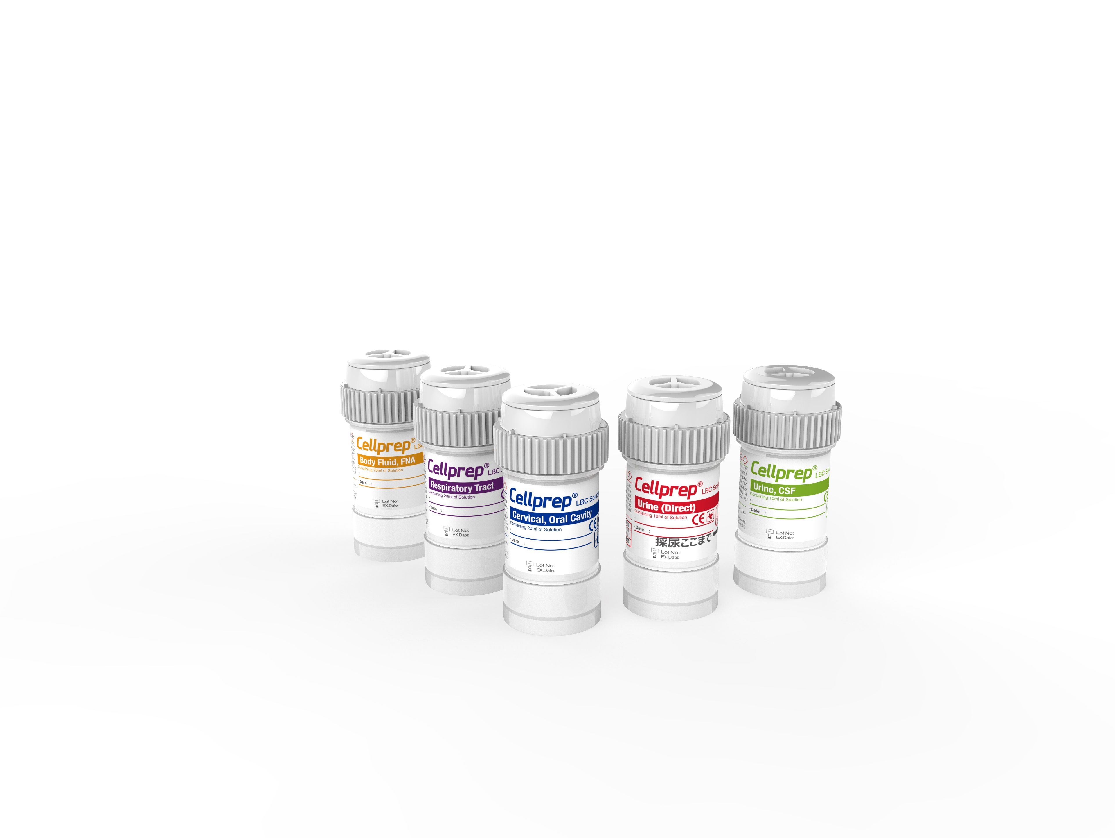 Cellprep vials