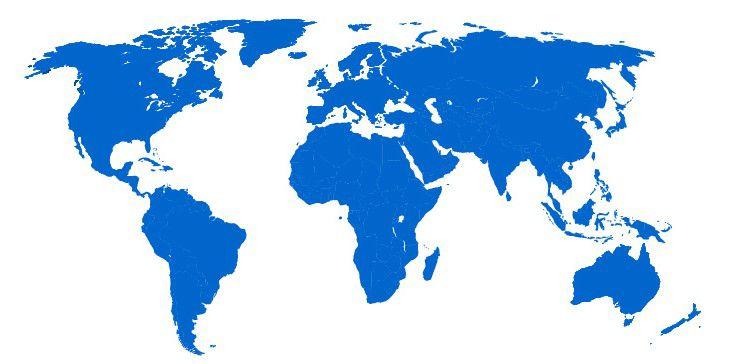 Tỉ lệ sống còn khác nhau giữa các nơi trên thế giới